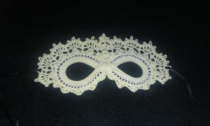 Lace Masquerade Mask by forevernat