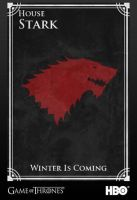 Red Wolf of Winterfell by SapphireCrusader