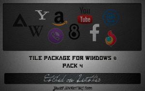 Tile Package 4 for Windows 8 - Embossed in Leather by jawzf