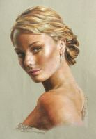 Girl - Colour Pencil by woanling