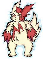 Zvipht the Zangoose by Cappies