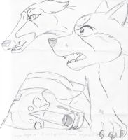Ginga sketchdump by GingaGirl86