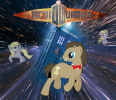 Doctor Whooves Title Screen by ShwiggityShwah