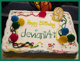Happy Birthday deviantART by karyaazure