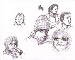 Train Sketches 2 by Anararion
