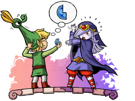 The Minish Cap: Hey Vaati, Wanna Fuse? by Purrdemonium