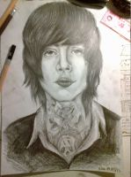 Oliver Sykes by dropdeadgoregous