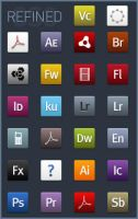 Refined CS3 Icons by cmykdesigns