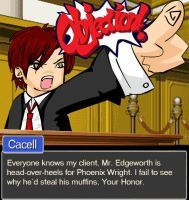 ID: Objection by cacell