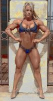 Angry body by LovBlondGirlMuscled