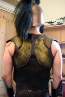 Leather armour back by glee72