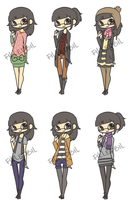 CLOTHING MEME THING OR WHATEVER by FDbil