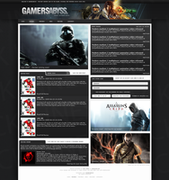 GamersAbyss - gaming design by jackinnes
