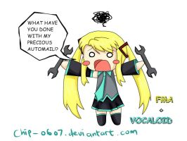 FMA VOCALOID crossover winry by chiPencil