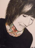 Oliver Sykes... again. by leeinanimus