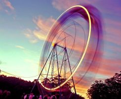 Falls Ferris Wheel by fuctupkid