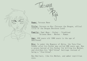 THE OMEN - Tatsuya Mini Reference Sheet