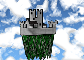 Castle in the Sky by Madican