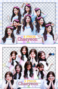 [ PACK RENDER #24 ] CHAEYEON - DIA by Risahhh