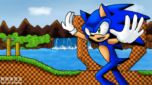 Green Hill Zone by twirl2