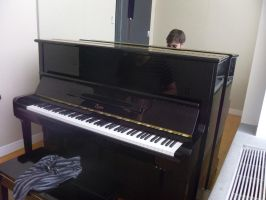 Lonley Piano by Shukibaby