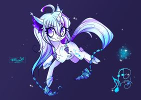 Winter Adoptable: Snowstorm Melody [CLOSED] by Wilvarin-Liadon