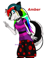 Amber my Dog OC by The-Real-Shaydee