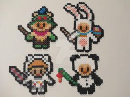 League of Legends Teemo the Swift Scout Perler Art by ReinaLaura