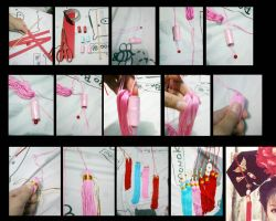 How to make a chinese tassels by seawaterwitch