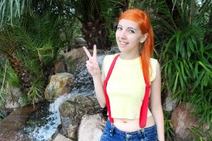 Misty V - Pokemon Cosplay by FlorBcosplay