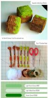 Grass Block Crochet Tutorial by dinn