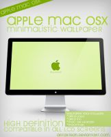 MAC OSX Minimalistic Wallpaper by ARTartisan