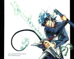 ao no exorcist by cicadella