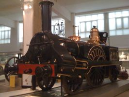 GJR Loco Columbine, 1845 by YanamationPictures