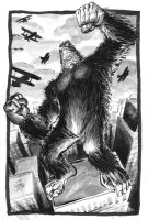King Kong Goes Ape by markwelser