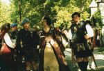 Queen Margaret, with Scottish regiment by SwordOfScotland