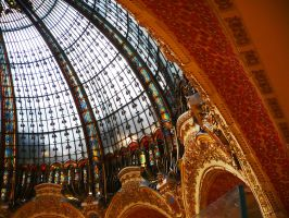Galerie Lafayette Paris by Vempje