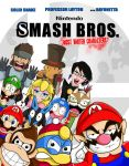 Super Smash Bros 4- Most Wanted Characters by xeternalflamebryx