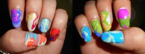 Water Marbling - 4th Try by Boo-tastic