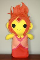 Flame Princess Chibi Plush by orangecorgi