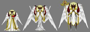 Christian Angelic Hierarchy - Third Sphere by KelbremDusk