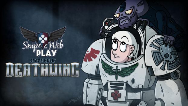 Space Hulk Deathwing Title Card by wibblethefish