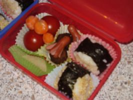 Home Made Bento by AmysFoodVariation