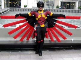 Reboot Red Robin Cosplay by Takafutoku