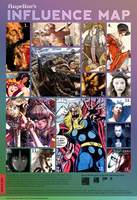 My Influence Map by Michelangeline