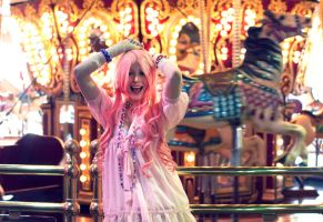 Pink Lolita Carousel by Swimming-Up-Currents