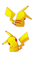 Commission Socks-Rock - Pikachu by Willow-San