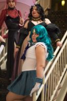Sailor Neptune Cosplay Portrait by OxfordCommaCosplay