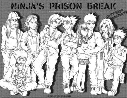 Ninja's Prison Break by KarolaKH