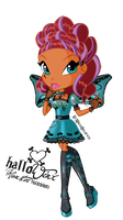 Layla HalloWinx chibi by MagiaBelievix